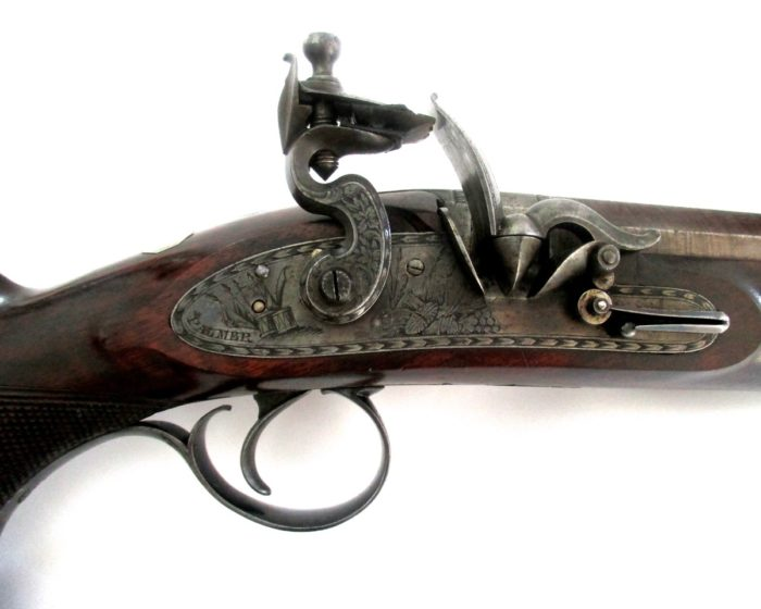 pair-flintlock-officers-pistols-Palmer-rochester-1820-gary-friedland-antique-arms-armor4