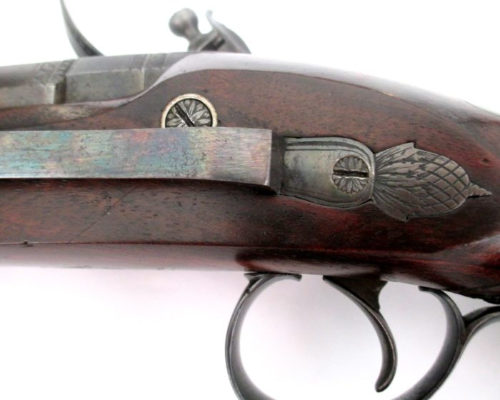 pair-flintlock-officers-pistols-Palmer-rochester-1820-gary-friedland-antique-arms-armor8