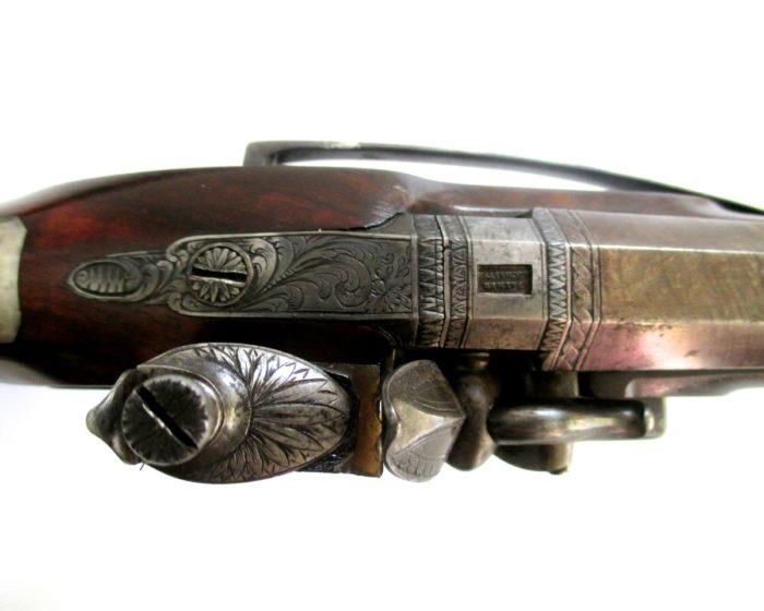pair-flintlock-officers-pistols-Palmer-rochester-1820-gary-friedland-antique-arms-armor9