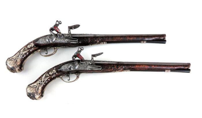 Pair-Swiss-flintlock-holster-pistols-David-Dick-in-Bern_Gary_friedland_0